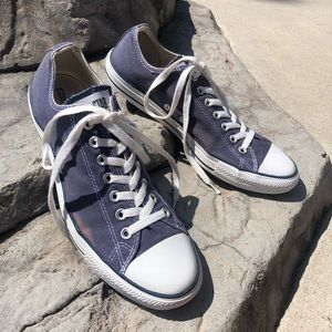 Navy Low Top Converse